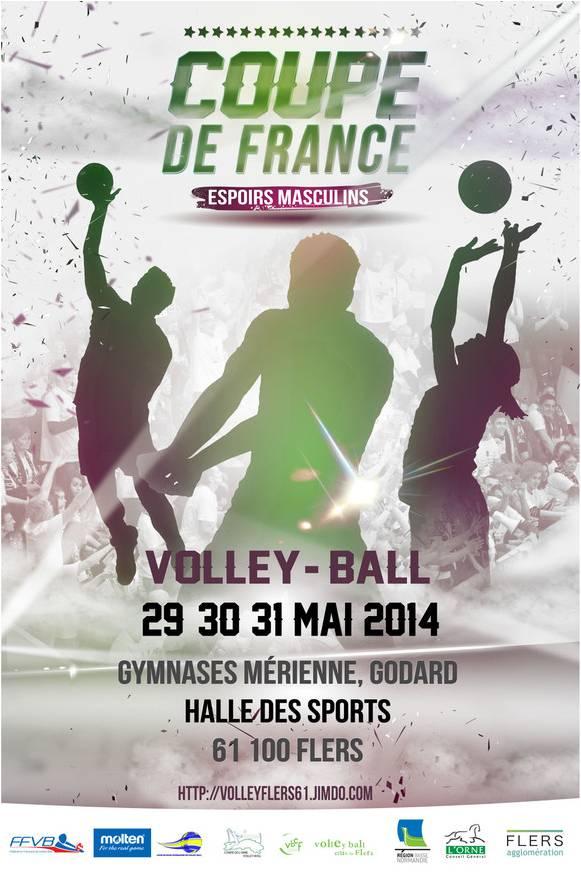 Coupe de france volley ball espoirs masculins cdos de l 39 orne comit d partemental olympique - Volley ball coupe de france ...