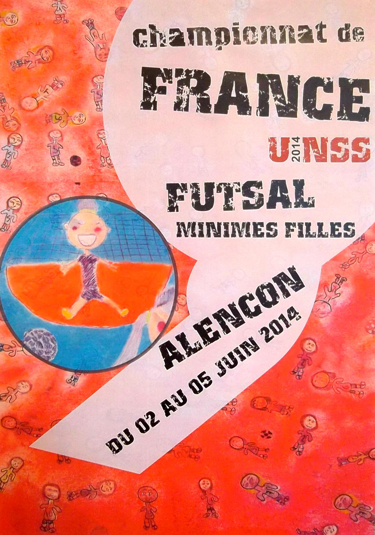 Les meilleures équipes de Futsal féminin se retrouveront à Alençon du 2 au 5 juin 2014